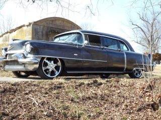 1956 Cadillac Limo Chevy Suv Lt1 Chassis Swap Lowered Hot Rat Rod Custom Gasser photo