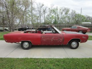 Rare 1968 Sport Satellite Convertible Rare photo