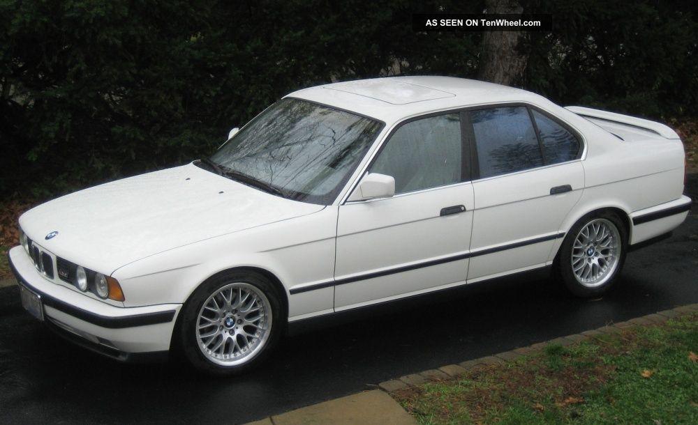 1991 Bmw M5 Base Sedan 4 - Door 3.  6l Perfect Throughout M5 photo