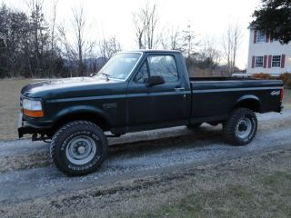 1994 Ford F - 250 Xl Standard Cab Pickup 2 - Door 5.  8l photo