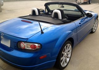 Winning Blue 2006 Mazda Mx - 5 Miata 6 Speed Sport Convertible Title 85k photo