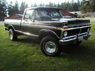 1977ford : F - 150 Xlt Ranger 4x4 Heavy Half Ton Long Bed photo