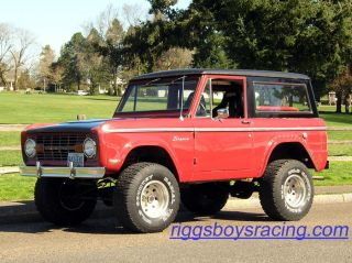 1969 Ford Bronco With Rebuilt 302 V8 photo