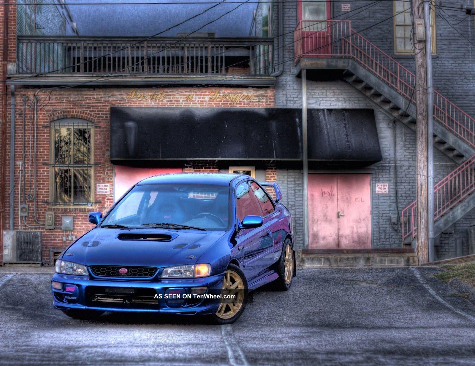 1997 Subaru Impreza Coupe Awd 2 5 Rs Jdm Wrx Sti World