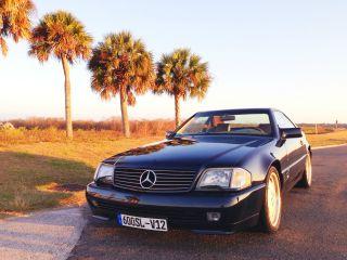 1993 Mercedes Benz Sl600 W / Hardtop & Convertible V12 photo