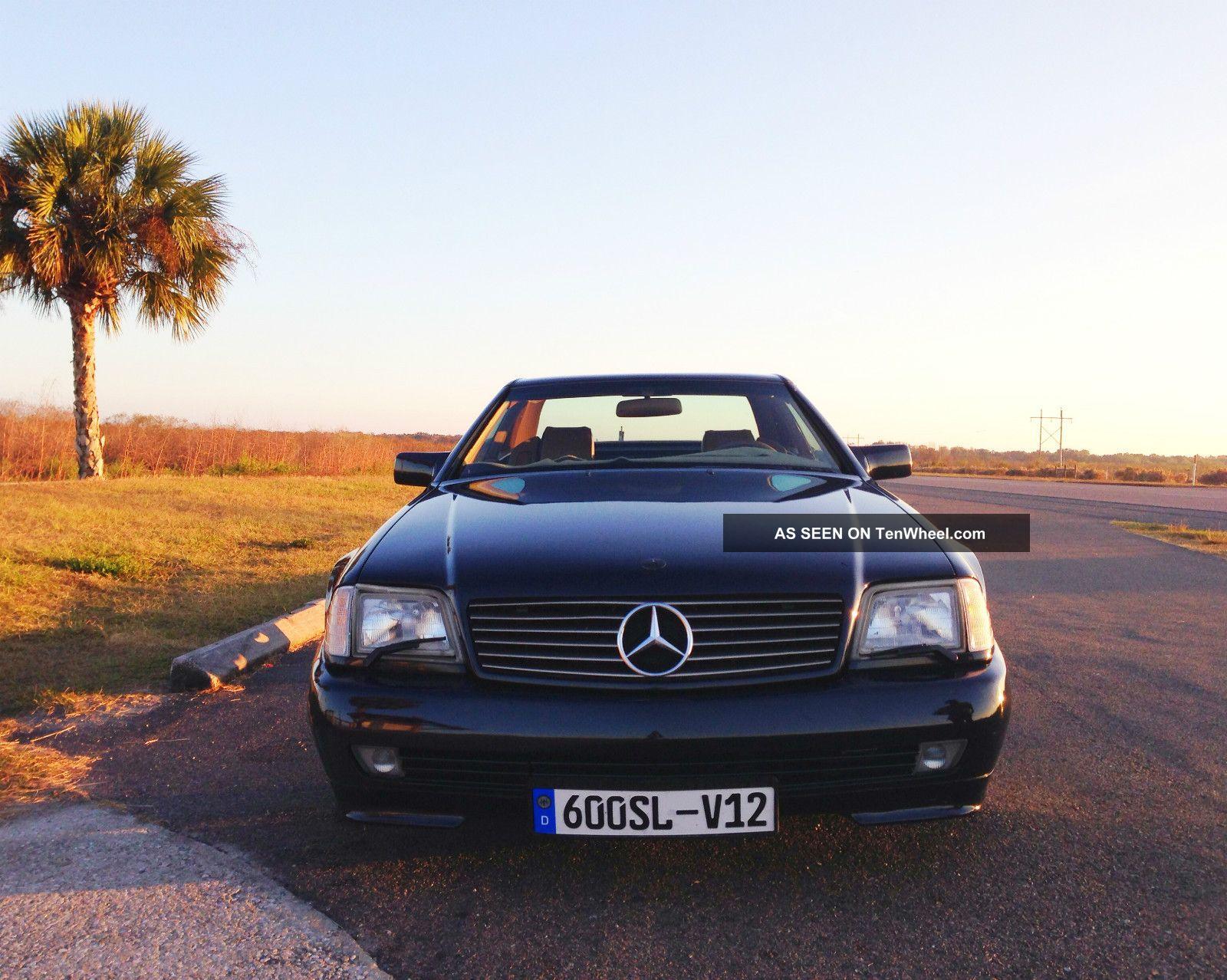 1993 mercedes benz sl600 w hardtop convertible v12 for V12 mercedes benz
