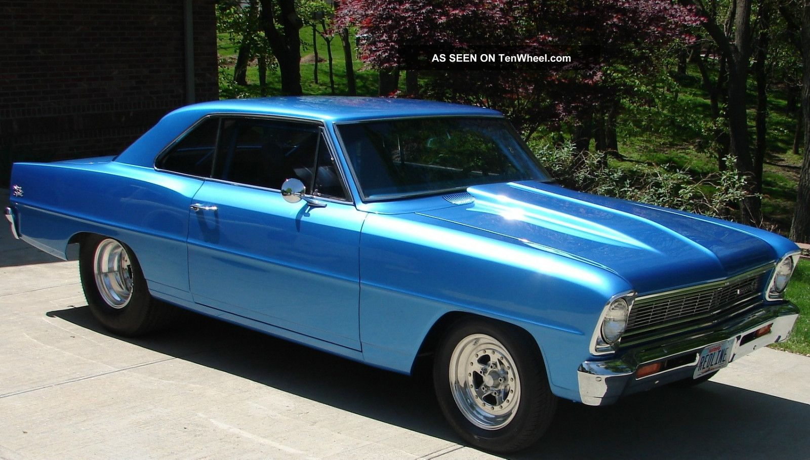 1966 Chevy Ii Nova Ss Sport Rolling Chassis Pro Street Tour 66 Chevrolet