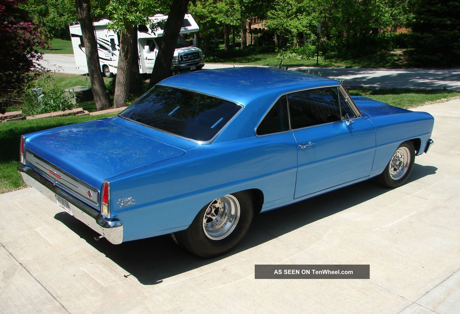 1966 Chevy Ii Nova Ss Sport Rolling Chassis Pro Street Tour 66