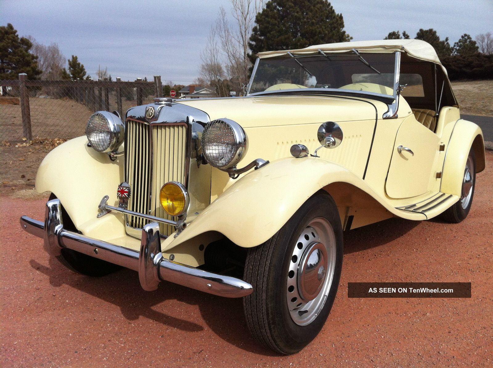 1953 Mg Td2 Convertible Roadster T-Series photo