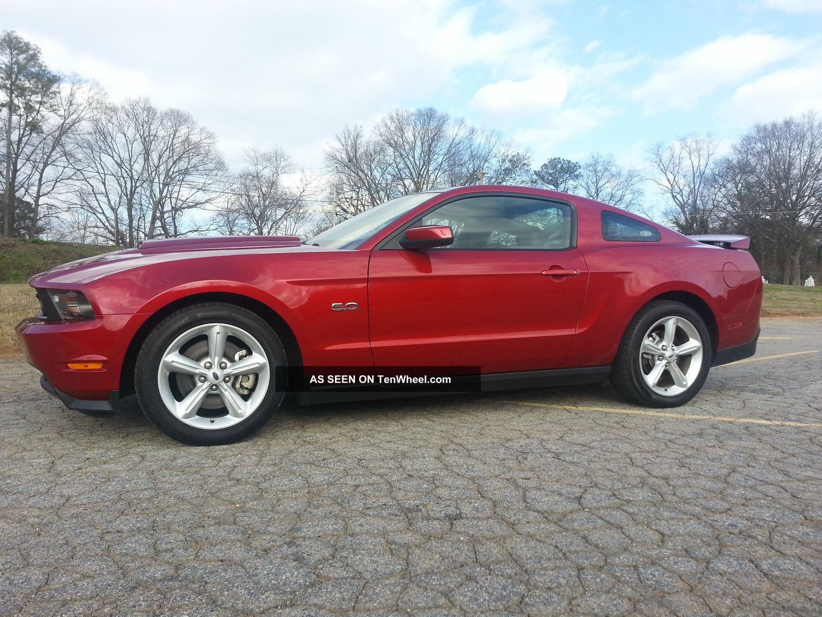 2011 Ford Mustang Gt Premium Coupe 2 Door 5 0l