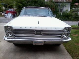 1966 Plymouth Fury Sport 7.  2l Convertible photo