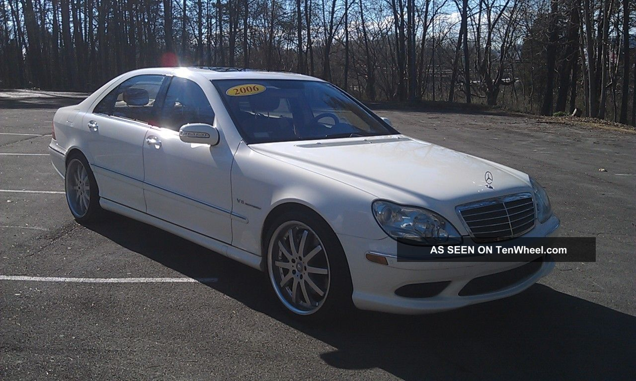 2006 mercedes benz s55 amg dynamic seats perfect s600 s500 for Mercedes benz s55