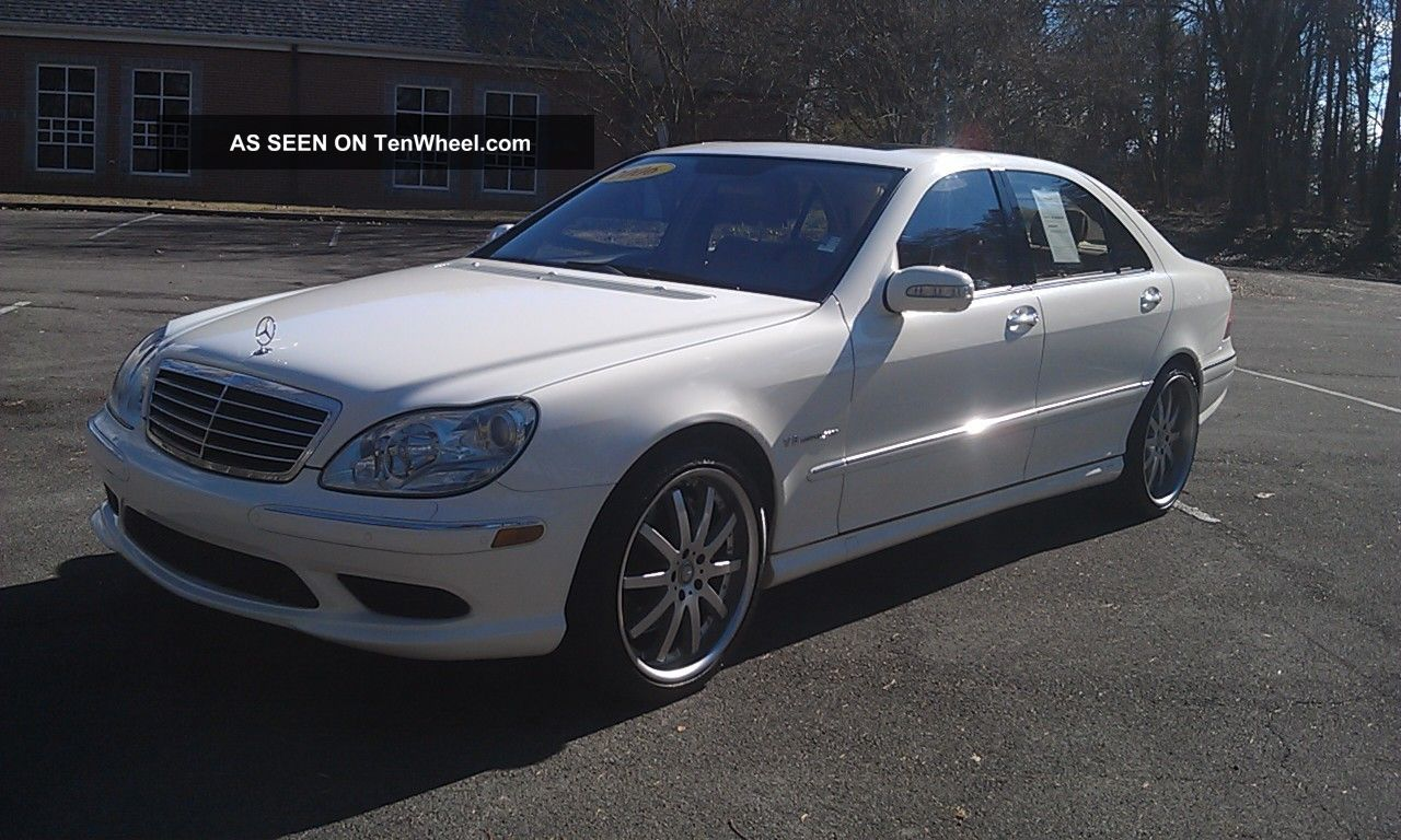 2006 mercedes benz s55 amg dynamic seats perfect s600 s500. Black Bedroom Furniture Sets. Home Design Ideas