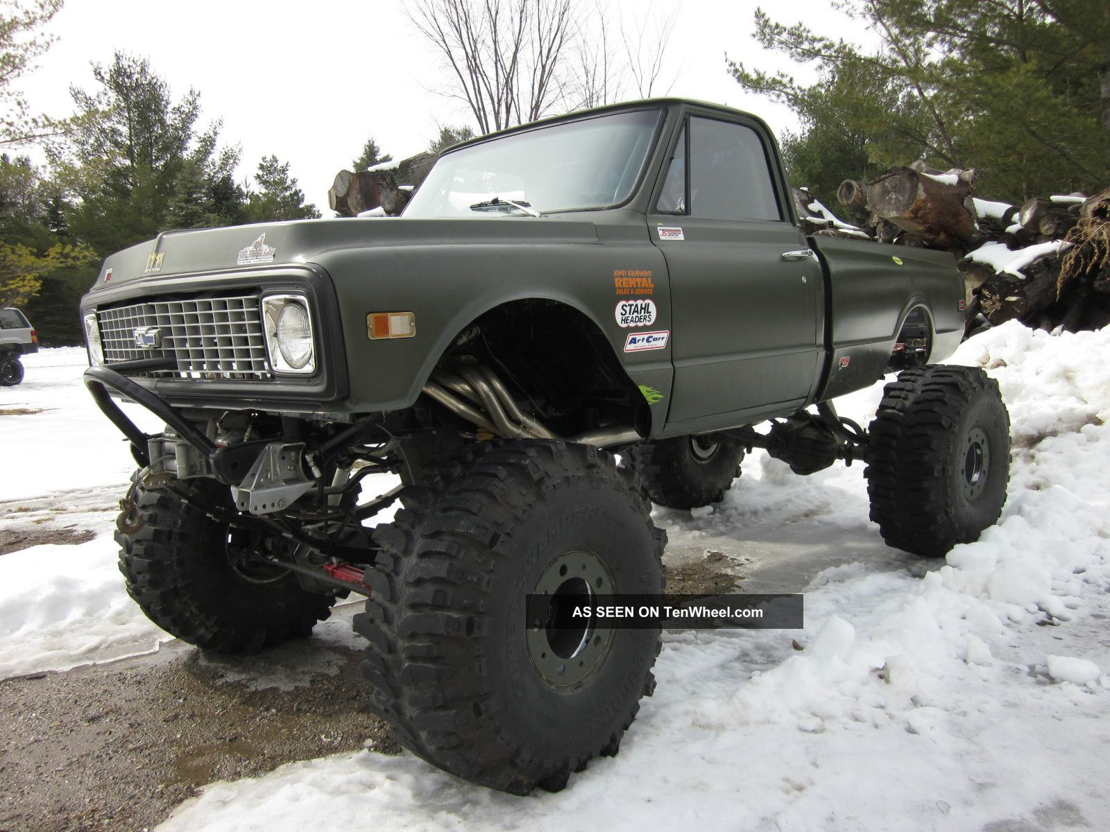 1971 Chevy Off Road Truck C/K Pickup 2500 photo 2