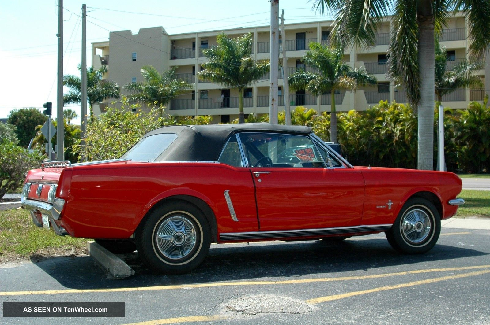 1965 Mustang Convertible on 1965 mustang all wheel drive