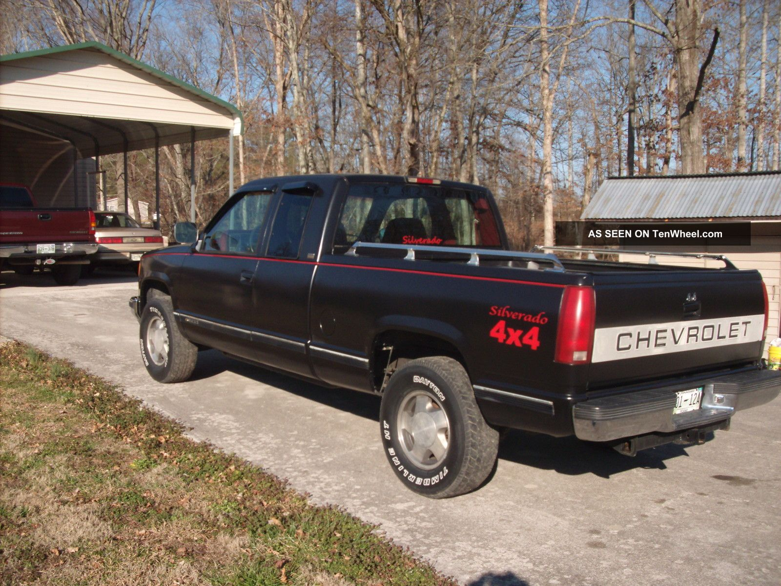 1994 chevrolet k1500 silverado extended cab pickup 2 door 5 7l. Black Bedroom Furniture Sets. Home Design Ideas