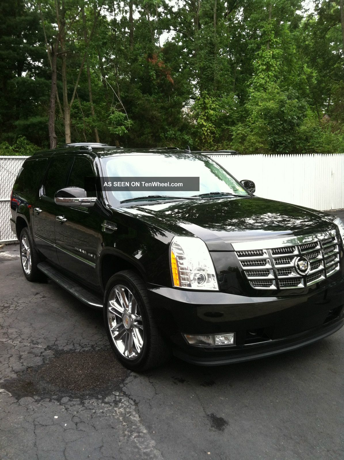 2008 cadillac escalade esv limo ceo black platinum. Black Bedroom Furniture Sets. Home Design Ideas