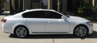 2007 Lexus Gs450h Starfire Pearl White In photo