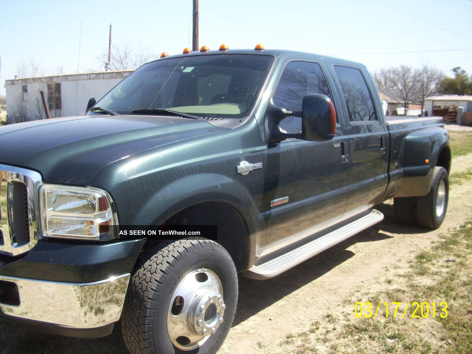 2005 Ford F350 King Ranch Fx4