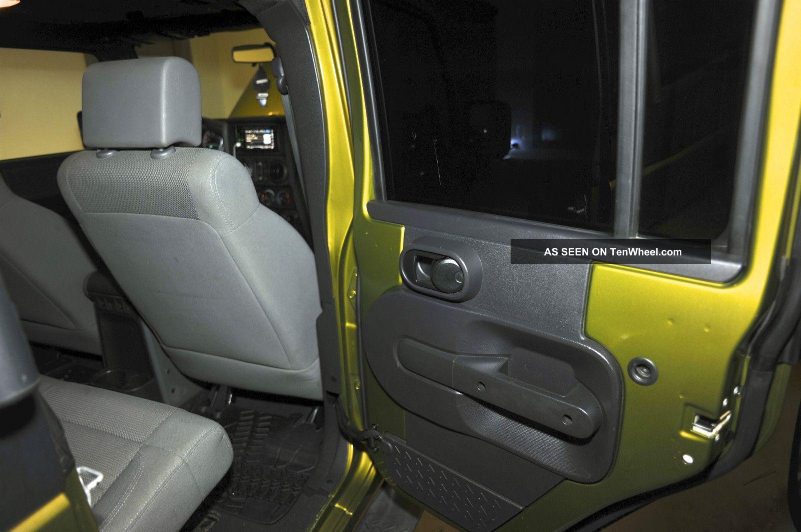 2007 Lifted Jeep Wrangler Sahara