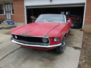 1969 Mustang Convertible photo