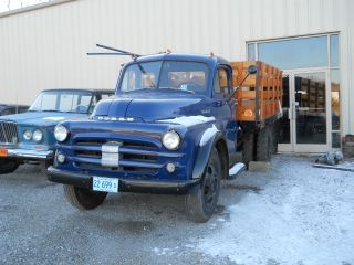 1952 Dodge Farm Truck,  Wedge Hauler,  Rollback,  11k Spent Restoring photo