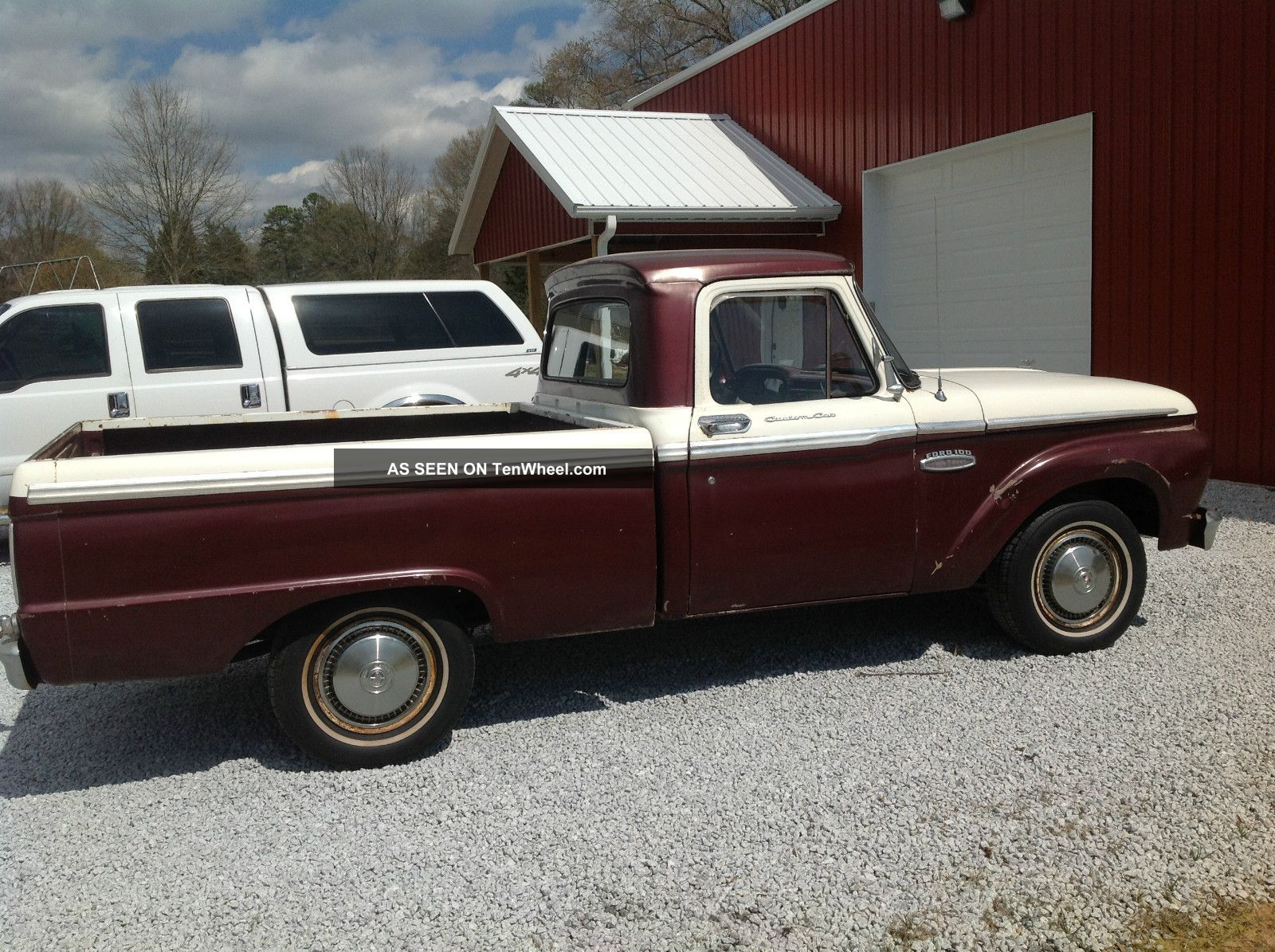 1965 ford f100 short bed pickup truck. Black Bedroom Furniture Sets. Home Design Ideas