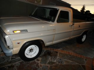 1968 Ford F250 8 Cyl Camper Special In Very Good Conditions photo