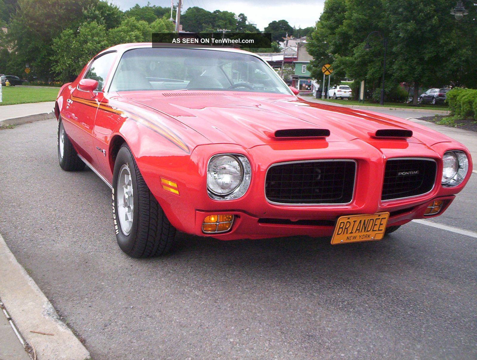 1973 Pontiac Firebird Formula All Sheet Metal Car Phs