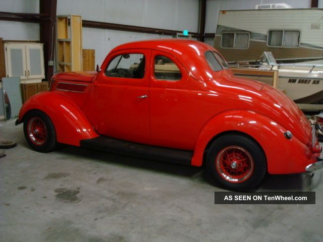 1937 Ford Business Coupe Vintage Flathead 5 Speed Hot Rod Without Pushrods Neat Other photo