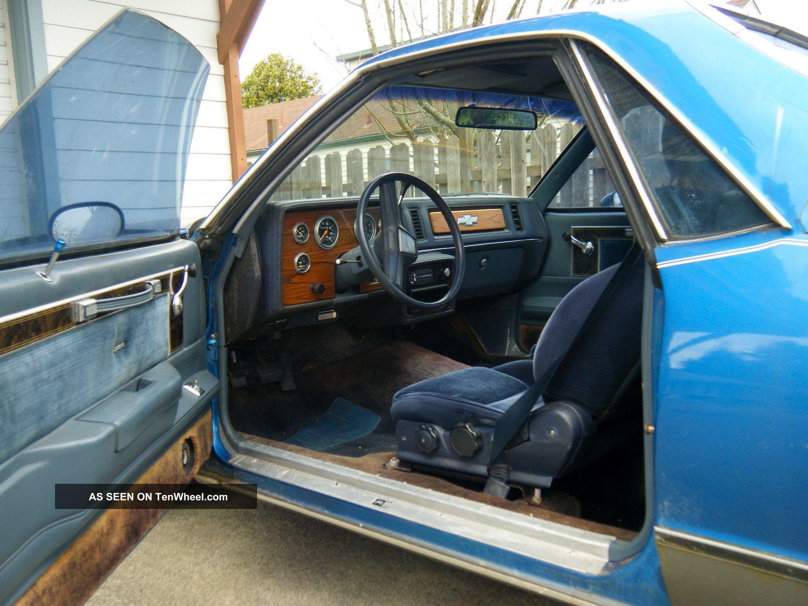 1979 Chevrolet El Camino Base Standard Cab Pickup 2 - Door 5.  7l El Camino photo