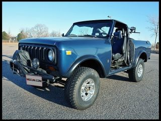 1977 International Scout,  Fully Accessible,  Customized For Hand Controls photo