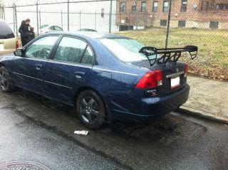 2003 Honda Civic Dx Sedan 4 - Door 1.  7l Modified photo