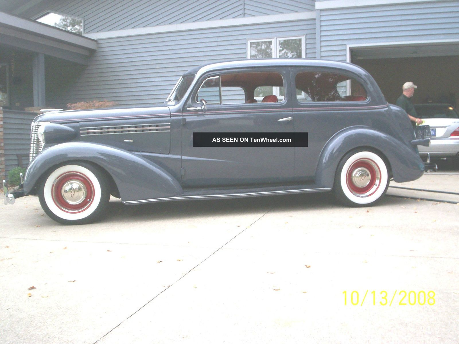 1938 chevrolet master deluxe 2 door sedan street rod for 1938 ford 2 door coupe