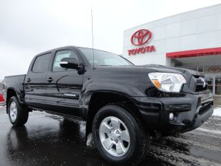2013 Tacoma Double Cab 4x4 4.  0l V6 Auto Trd Sport Black Rear Camera 4wd photo