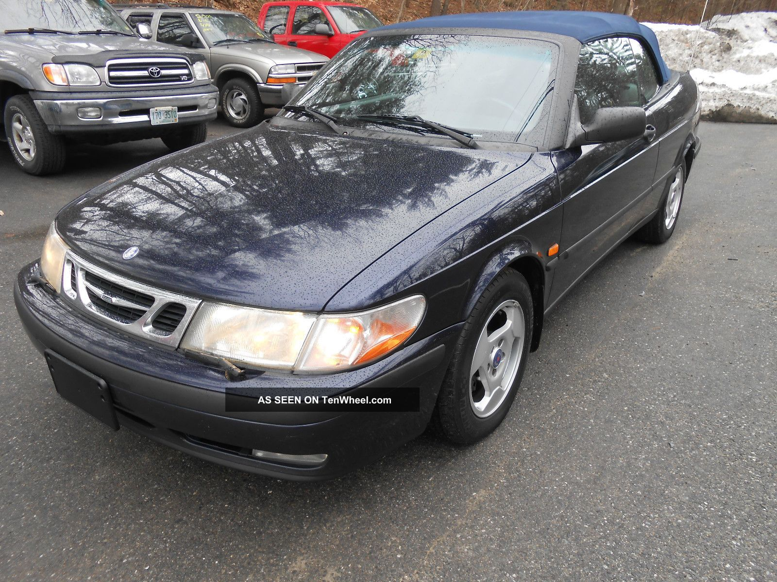 1999 saab 9 3 turbo convertible very runs perfect. Black Bedroom Furniture Sets. Home Design Ideas