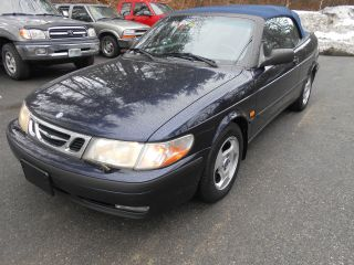 1999 Saab 9 - 3 Turbo Convertible Very Runs Perfect. photo