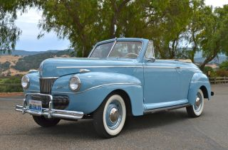 1941 Ford Deluxe Convertible Stock By Bill Harrah ' S Ca photo