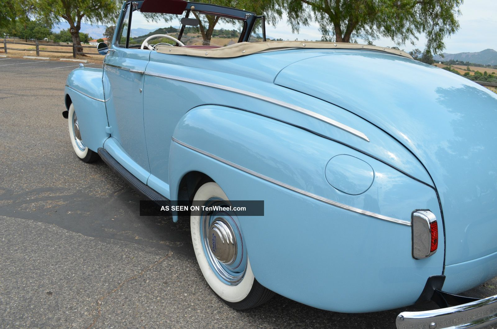 1941 Ford Deluxe Convertible Stock By Bill Harrah S Ca Coupe