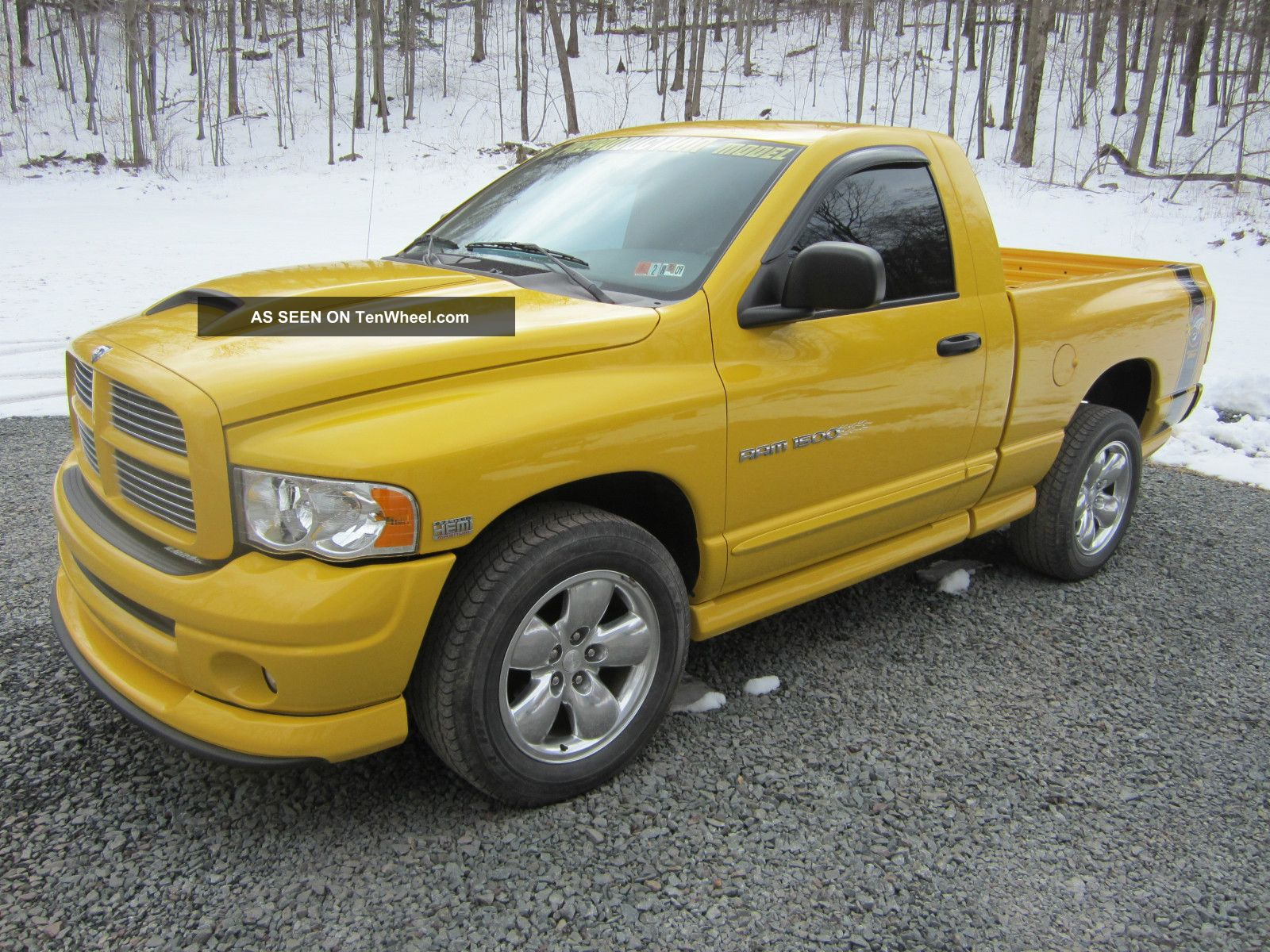 2004 dodge ram rumble bee pre production 4x4 1 of 2 rare. Black Bedroom Furniture Sets. Home Design Ideas