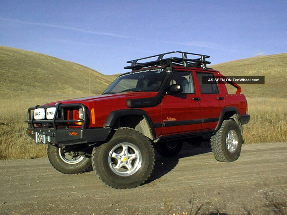 1998 Jeep Cherokee Africana One Of A Kind American Expedition Conversion Cherokee photo