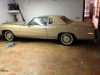 1978 Cadillac Eldorado Biarritz Coupe 2 - Door Two - Tone Arizona Beige / Demitasse photo