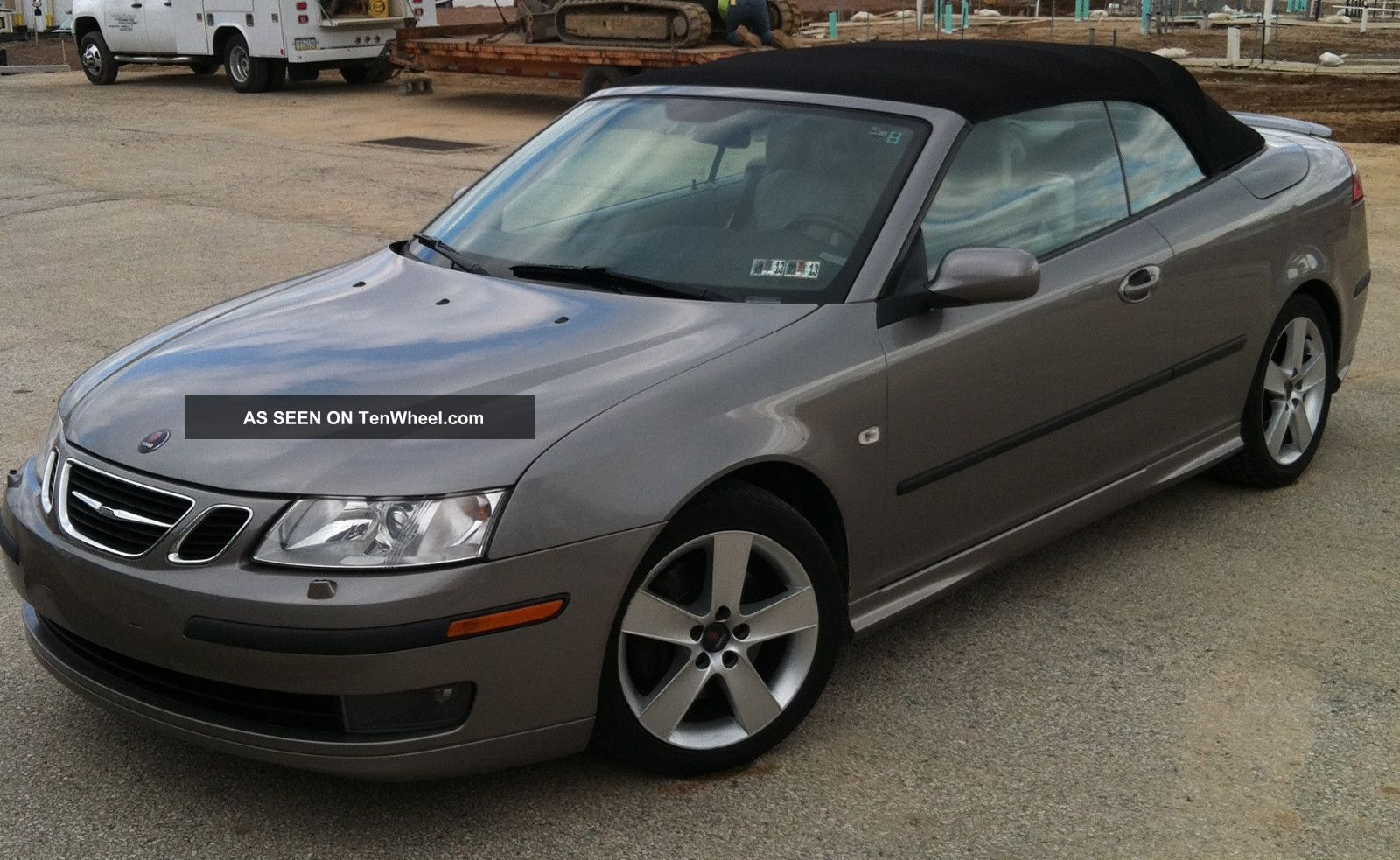 2006 saab 9 3 aero convertible 2 door 2 8l. Black Bedroom Furniture Sets. Home Design Ideas