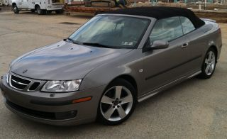 2006 Saab 9 - 3 Aero Convertible 2 - Door 2.  8l photo