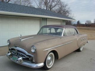 1951 Packard 250 Mayfair Hardtop Coupe Model True Barn Find photo