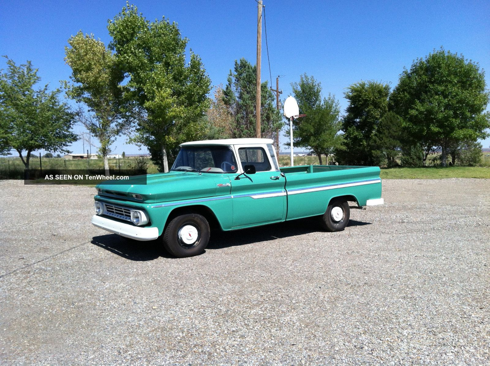 Cars Trucks Chevrolet C 10 Web Museum 1966 Truck C10 12 Ton Pu 2wd 4 1962 Pickup Photo