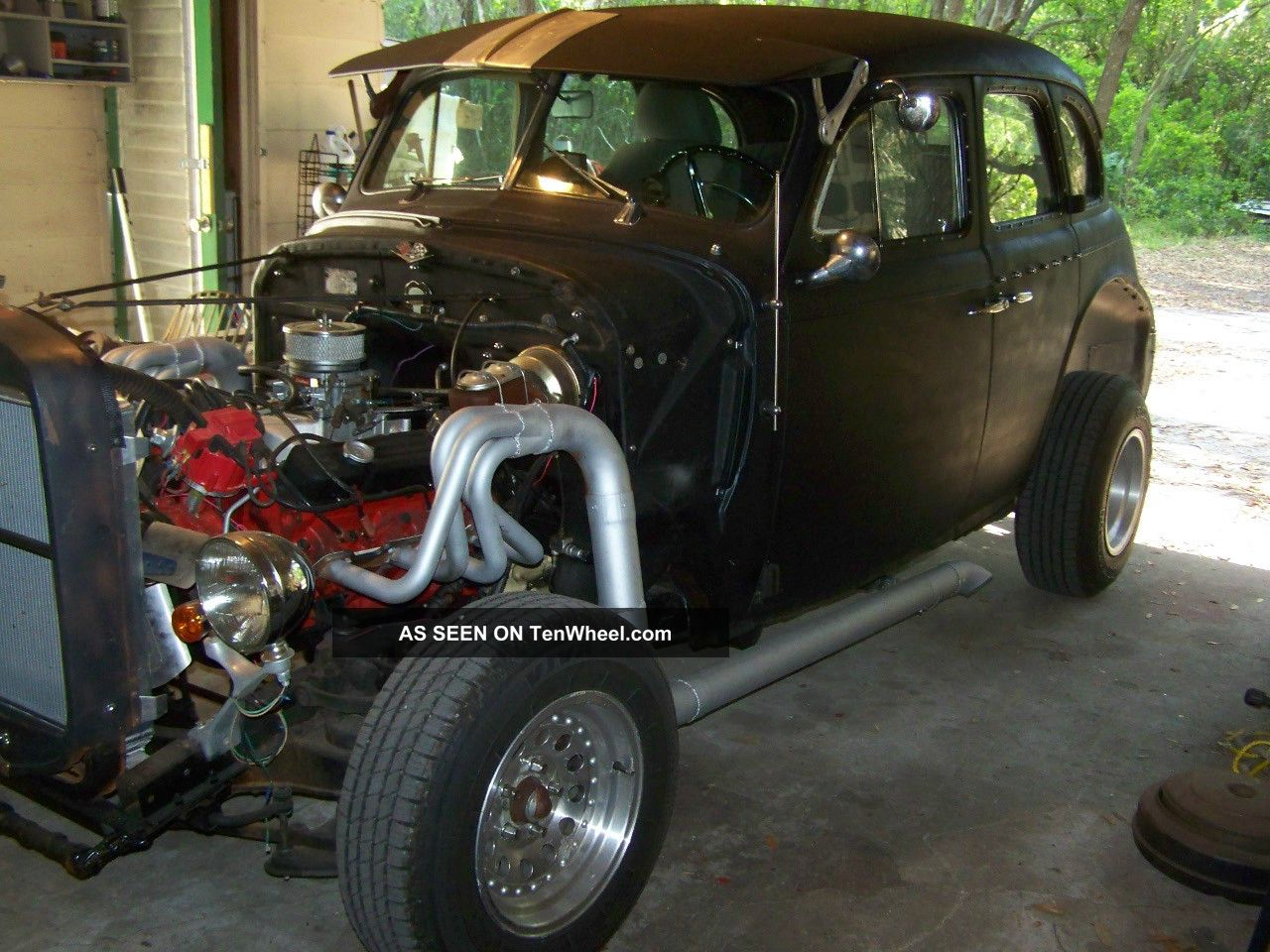 1940 Chevy Ratrod Custom Hotrod Saltflats Racer (455 Bbb) Other photo