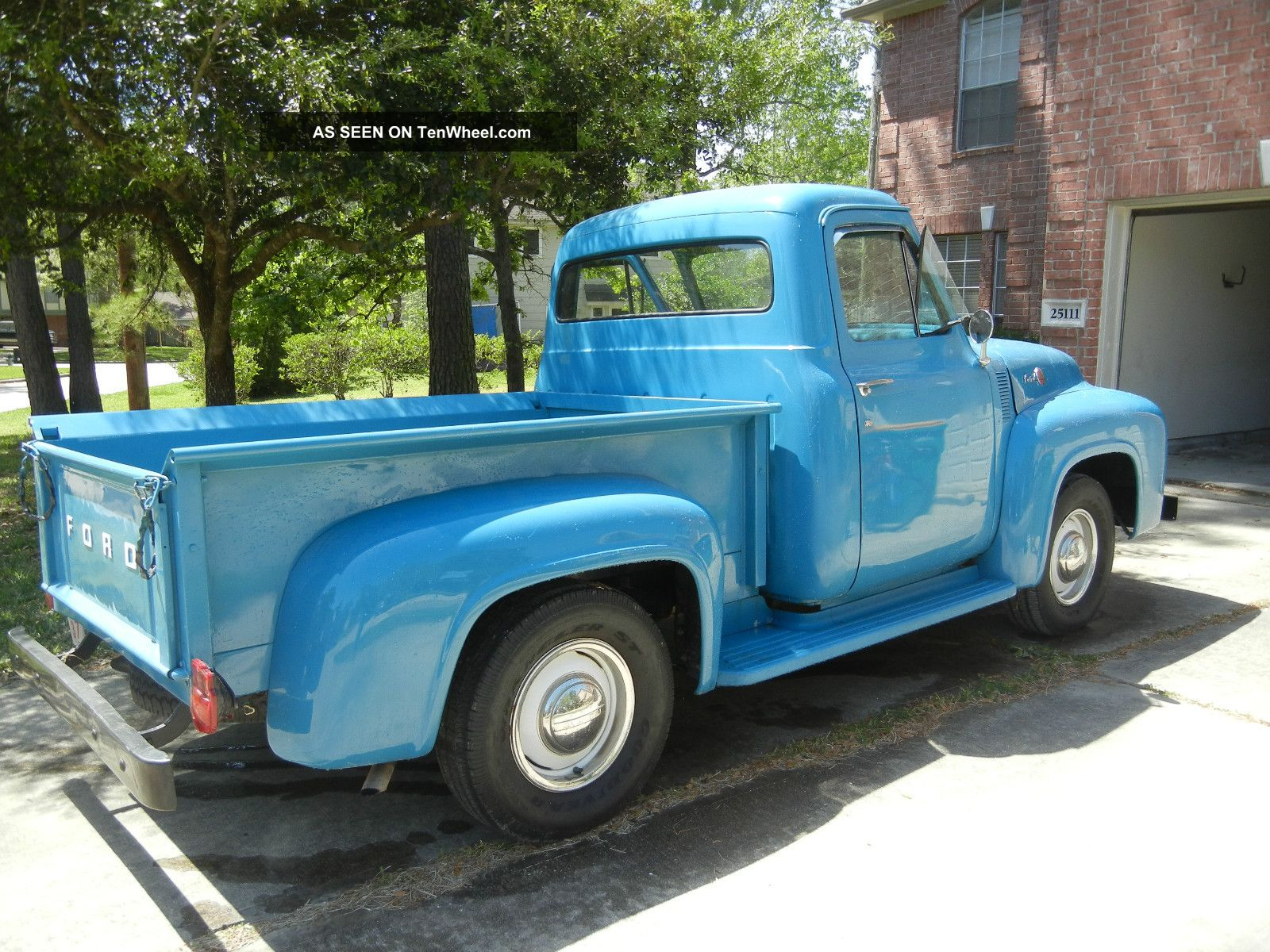 1955 Ford F100 Nearly Truck Interior