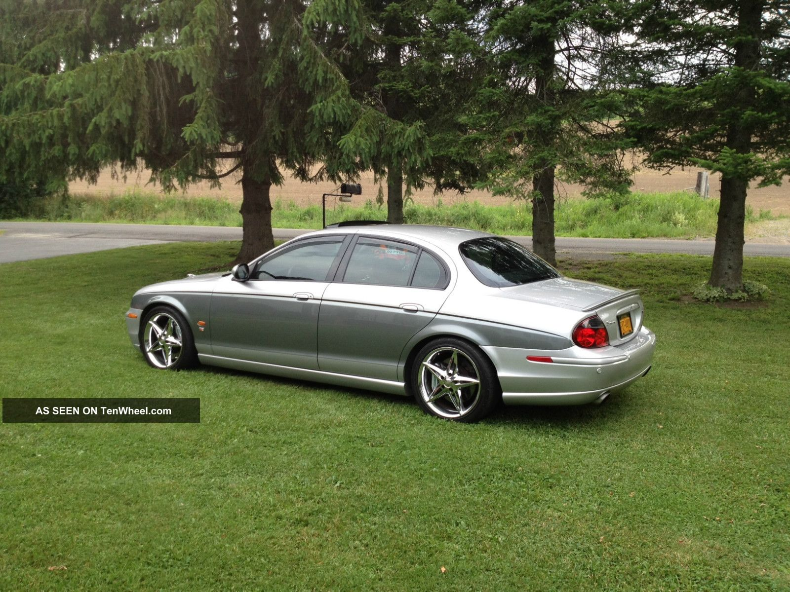 2003 Jaguar S Type R Sedan 4 Door 4 2l Custom