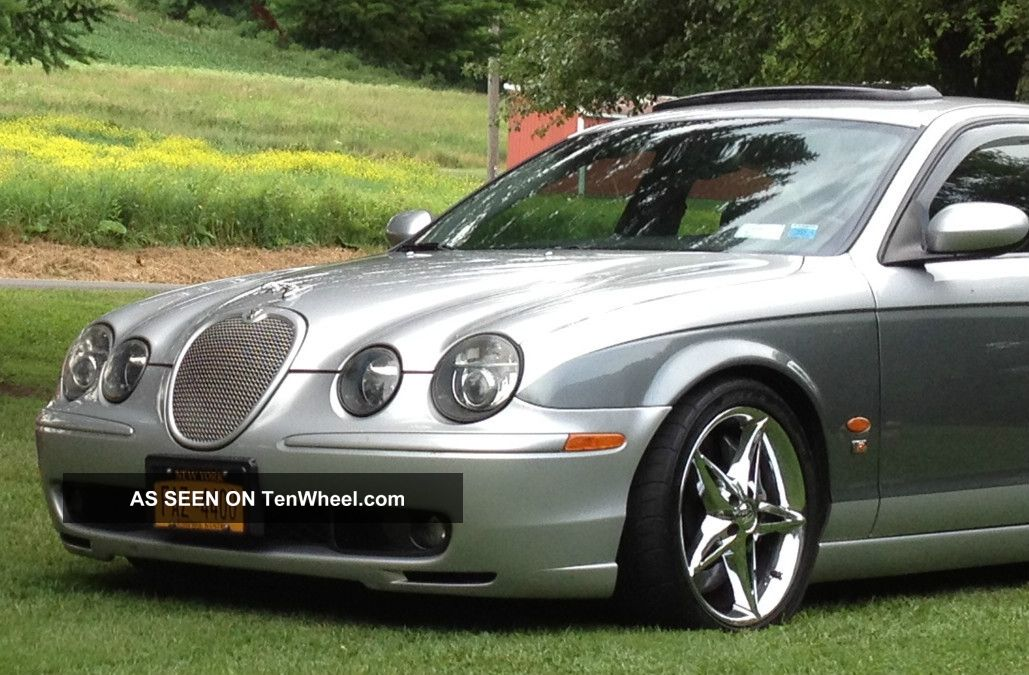 2003 jaguar s type r sedan 4 door 4 2l custom. Black Bedroom Furniture Sets. Home Design Ideas